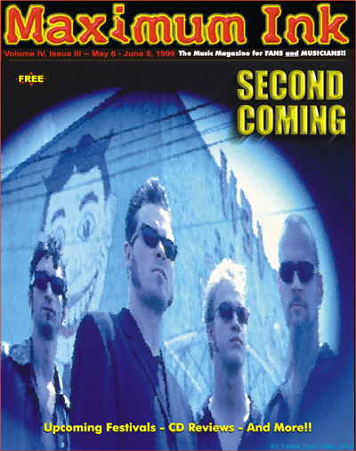 Seattle's Second Coming on the cover of Maximum Ink in May 1999