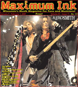 Aerosmith on the cover of Maximum Ink January 2007