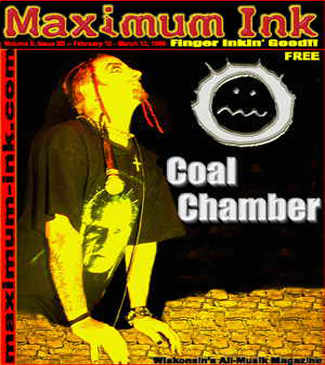 Coal Chamber on the cover of Maximum Ink