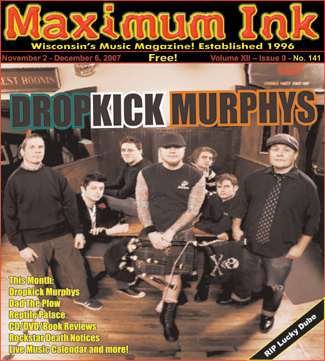 Dropkick Murphys on the cover of Maximum Ink November 2007