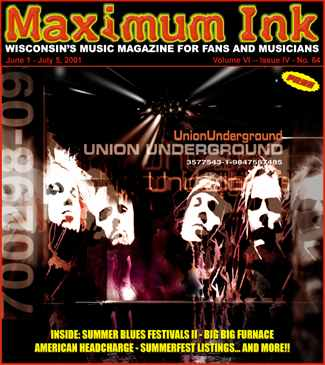 The Union Underground on the cover of Maximum Ink June 2001