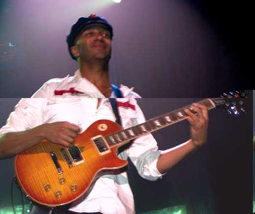 former Rage Against the Machiner Tom Morello - photo by Phil Hunt