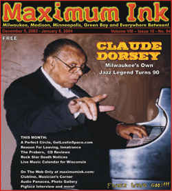 Milwaukee's Claude Dorsey makes the cover at 93 years old, the oldest yet! - photo by Dave Leucinger