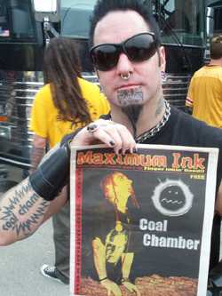 Coal Chamber photo by Phil Hunt