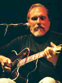 Jorma Kaukonen photo by Brett Lemke 12/14/03
