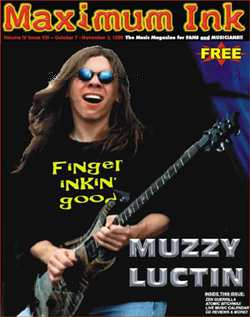 Muzzy Luctin interview by John Noyd, photos by Craig Gieck