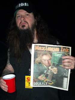 Dimebag Darrell of Pantera - photo by Phil Hunt