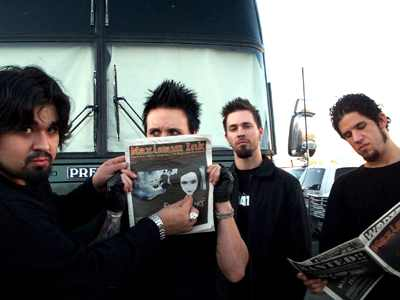 Papa Roach photo by Phil Hunt