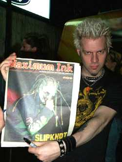 Spider of Powerman 5000 photo by Phil Hunt