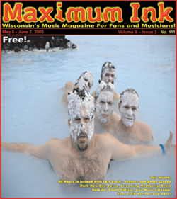 Last Crack at the Blue Lagoon in Iceland, on the cover of Maximum Ink in May 2005 - photo by Rökker