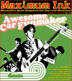 Madison's Awesome Car Funmaker on the Cover - photo by Rokker