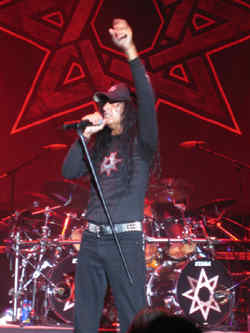 Joey Belladonna of Anthrax, Photo by Rich Johnson