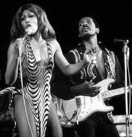 Ike Turner with Tina in the 60's