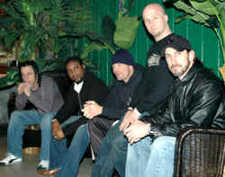 Sevendust group photo by Andrew Gargano
